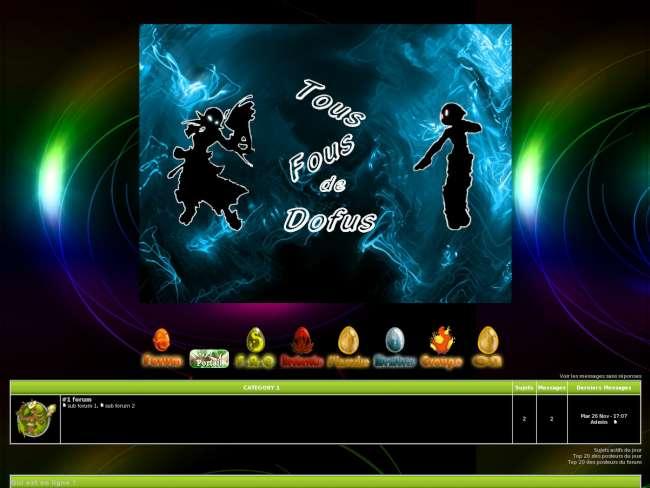 Dofus theme par azario...