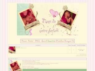 Des bébés et des fleurs