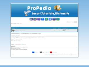 Blue theme by propedia