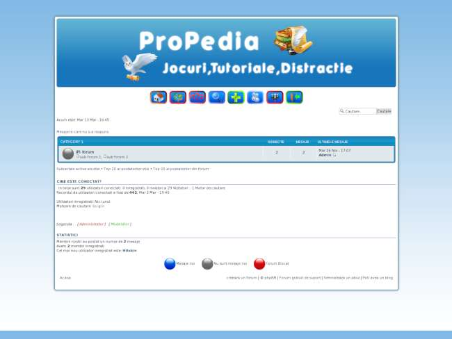 Blue theme by propedia