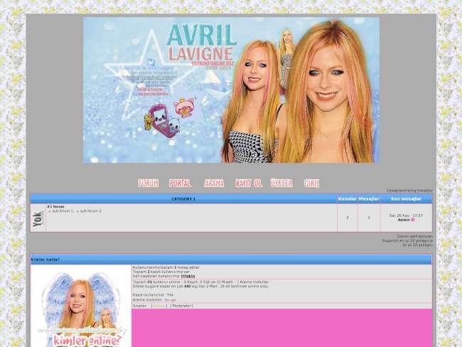 Avril Lavigne Fan Club 2008