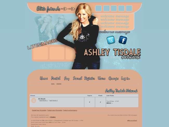 Ashle Tisdale Network