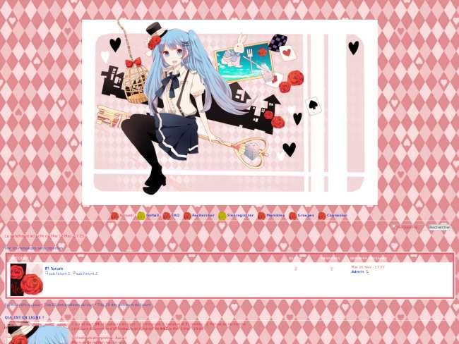 Hatsune Miku in love