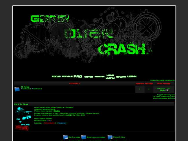 Game Over Crash