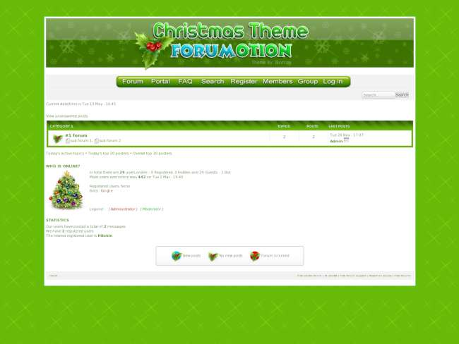 Christmas Theme Forumotion