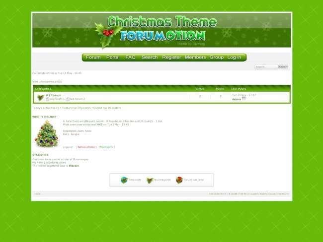 Christmas theme forumo...