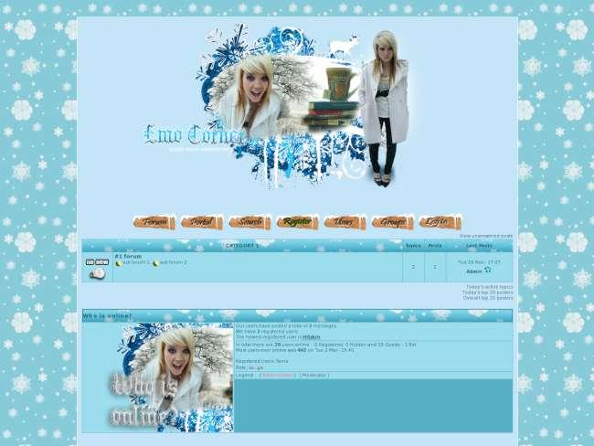 Emo corner winter by l...