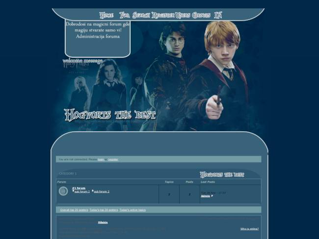 Harry Potter Hogvorts