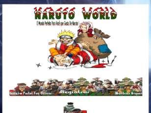 Natal naruto wolrd