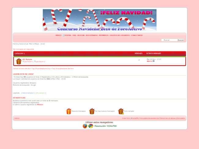 Concurso navideño 2010...