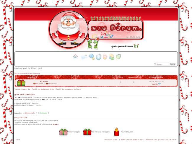 Tema natalino forumeiros Preview