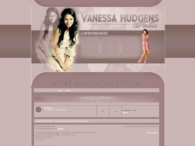 Vanessa Hudgens Serbia