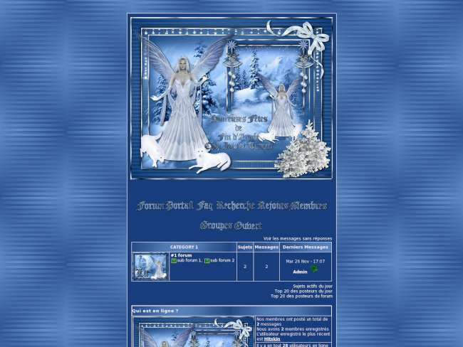Christmas Blue faerie