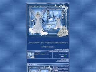 Christmas Blue faerie