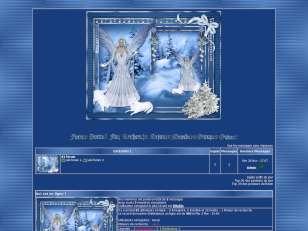 Christmas blue faerie 2