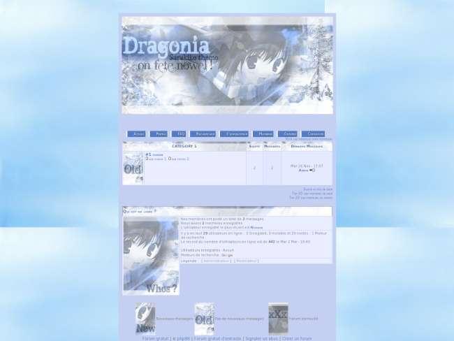Dragonia nldd - hiver