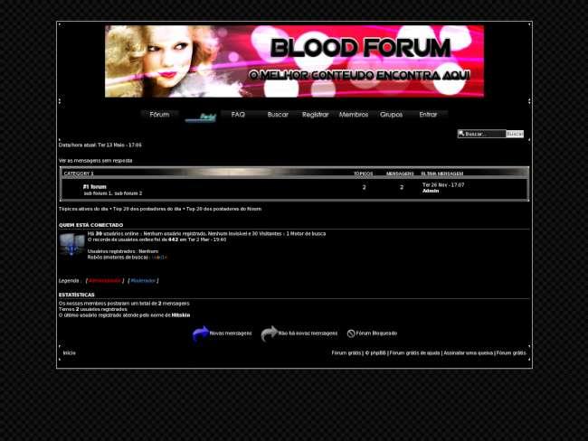 Blood forum