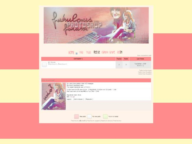 Fab Ps forum skin by Wwinner