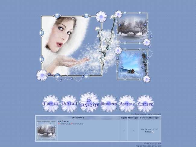 L'hiver fleuri