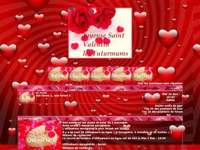 St valentin chez les f...