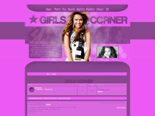 Girls corner skin