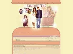 Fashion Teens:orange-b...