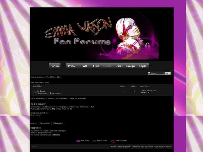 Emma watson theme