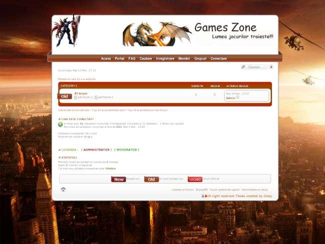 G-zone(games zone)