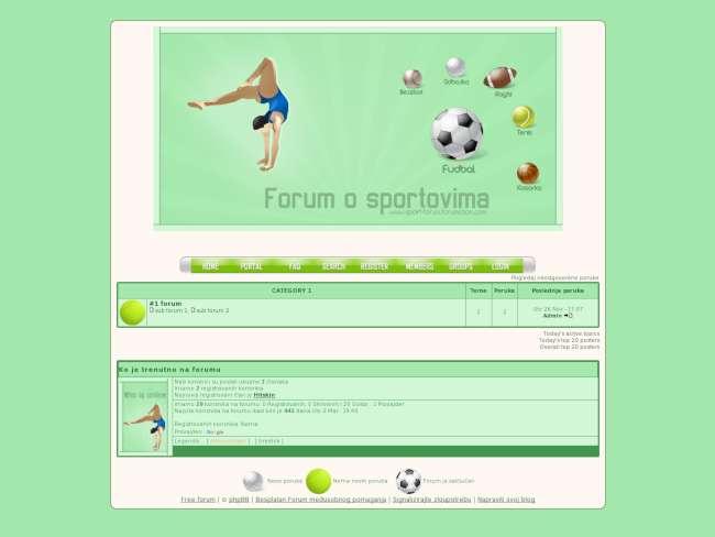 Forum o sportovima :D