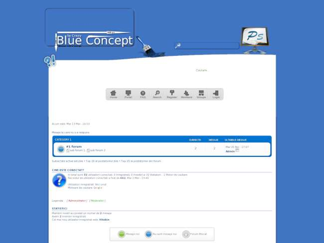 Concept blue classic