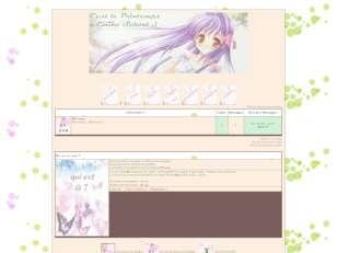 Manga fille printemps