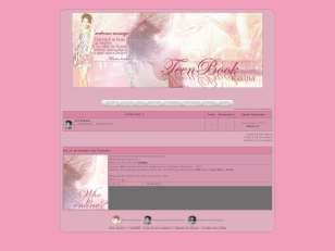 Teenbook new skin pink...
