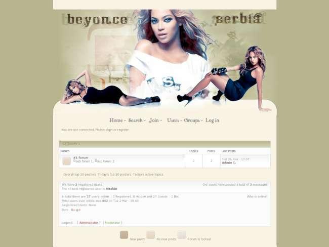 Beyonce serbia