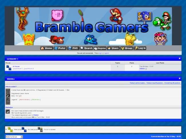 Bramble Gamers Skin #5