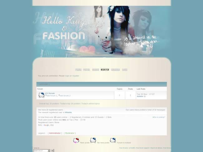 Hello Kitty & Fashion 4