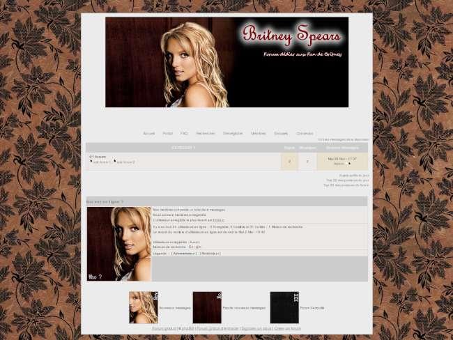 Britney spears theme