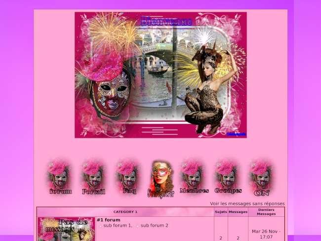 Le carnaval rose et ce...