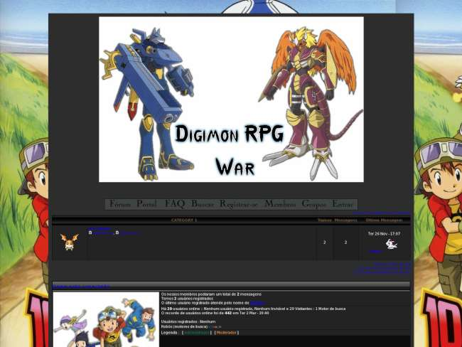 Digimon rpg online