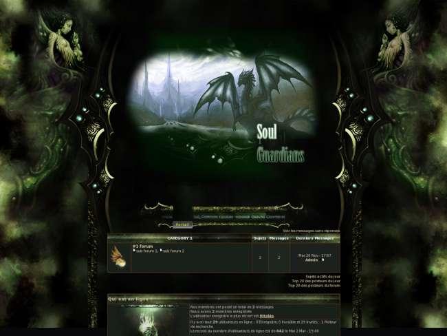 Soul guardians, thème ...