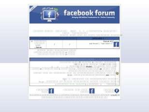 استايل موقع الفيس بوك ...