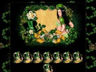 St patrick vert