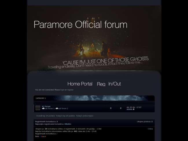 Paramore official foru...