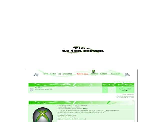 Xbox360 - phpbb2