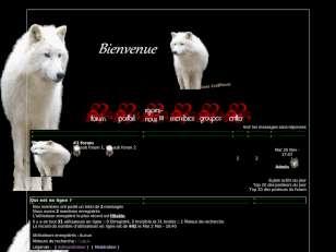 """"""" les loups &quot..."""