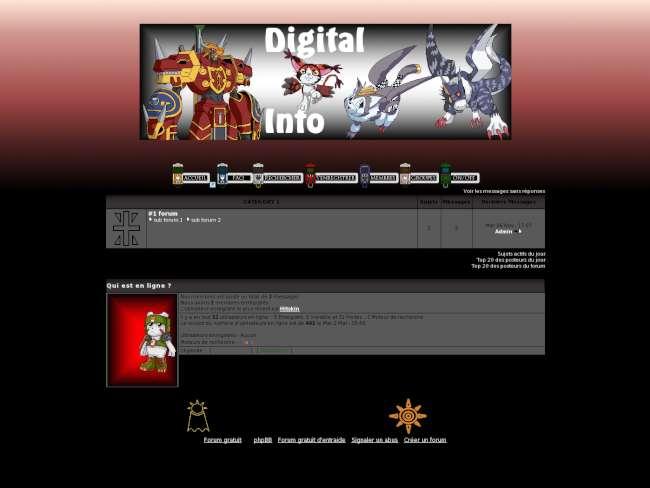Digimon // digital - info