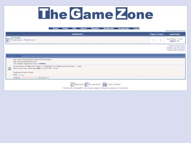 The Game Zone