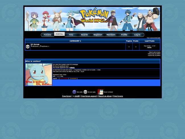 Pokemon World RPG