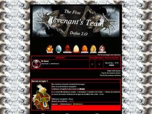 Les cinq revenants