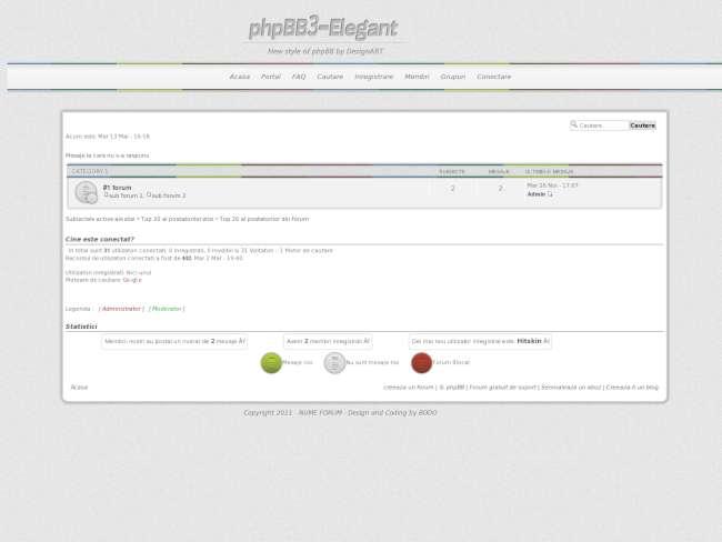 Phpbb3-elegant by desi...