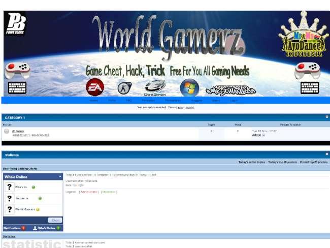World GamerZ Theme 1st